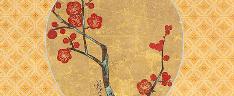 Plum Blossoms, Ogata Korin (1658–1716)