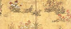 Wild Flowers, Kitagawa Sosetsu (c. 1620–c. 1690)