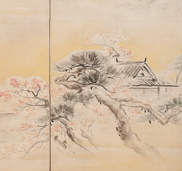 Spring and Autumn Landscapes, Maruyama Ōkyo (1733–1795)